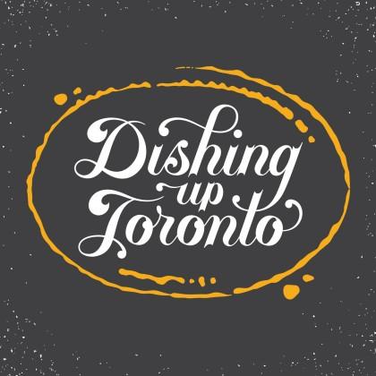 Dishing Up Wordmark